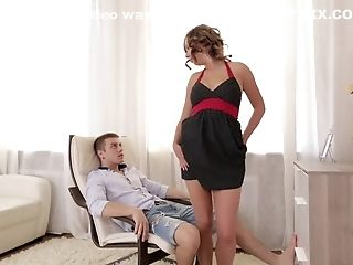 Primary porn industry star in mind-blowing black-haired, internal ejaculation hard-core flick