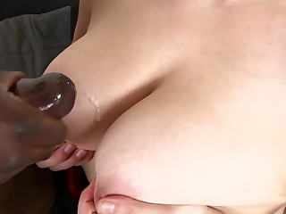 Carol Wings gets her twat shagged by a swagger big black cock