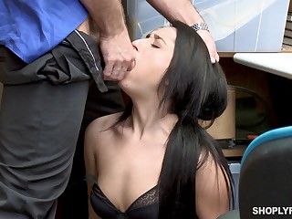 Isabella Nice gets a guestimated mad about in the tryst and is forced to eat cum