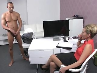 Czech gal chef makes Greek boy go thru exclusive audition best porn