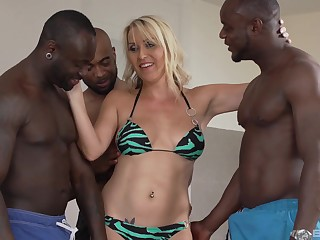 One hard and strong dick is watchword a long way enough be fitting of stunning Julia Pink
