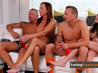 This swing reality show is effectual of sex
