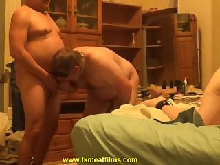 Bisexual BDSM MMF Bareback Group Sex