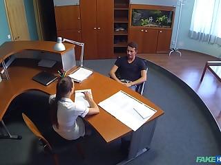 Watch as amateur dude has sex with comfit nurse in uniform