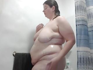Naomi Leigh BBW Shower Play Time Keep Con PSA