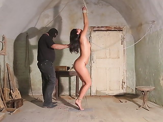 Tortured with electricity - suspension