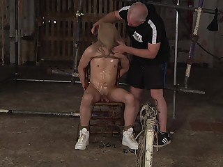 Gay bondage pleasures with Sebastian Kane with an increment of Daniel Hausser