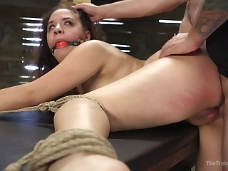 Extremely immutable BDSM action with Callie Klein