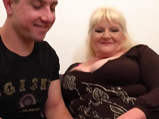 Leona is a true gilf who never holds back from fucking younger guys permitted