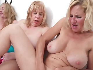 Three Girls On high The Table Pt3 - TacAmateurs