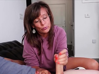Mature Fetish Masseuse Erotic Handjob