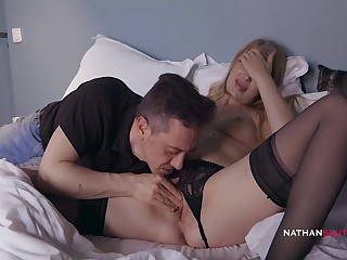 Horny Russian Slut Lucy Constituent Gets Her Ass Pounded Hard by Hubby For Breakfast 13 Min