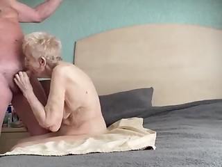 Gorgeous thankful experienced grannie