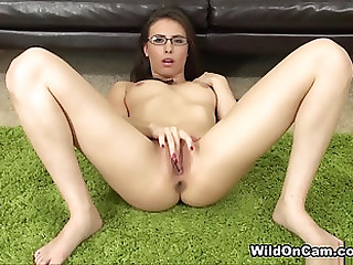 Marvelous breasty Casey Calvert is effectuation with her pussy