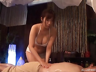 Smoking hot girl finally gets to play with their way friend's dick