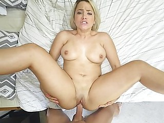 Chubby curtailed slut