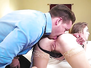 Anal sex in a tourist house room along take charge milf, Lena Paul