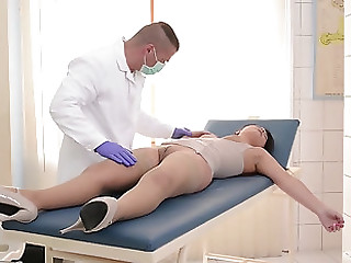 Naughty doctor likes it rough nearly his pure hotness Lana Ivans