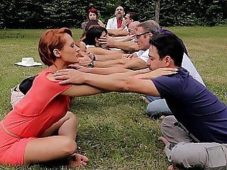 Group stretching almost nature